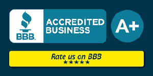 Better Business Bureau Reviews Button
